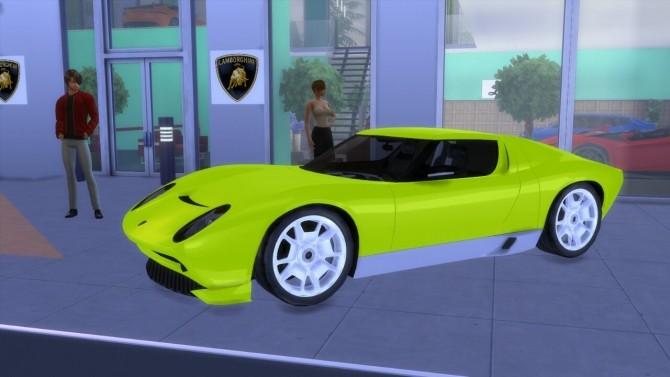 Lamborghini Miura Concept at LorySims image 897 670x377 Sims 4 Updates