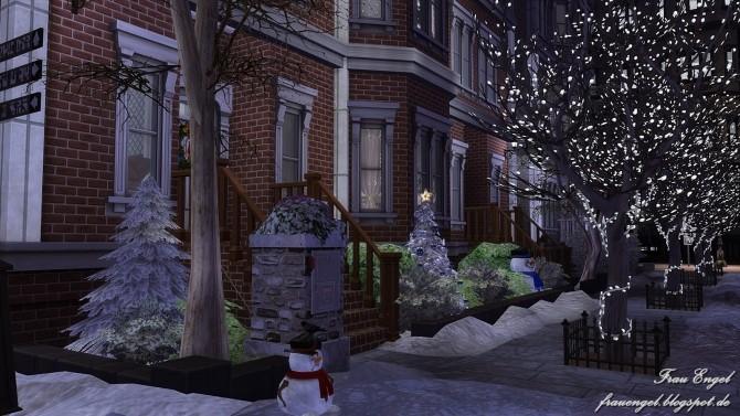 Winter Street ,125 by Julia Engel at Frau Engel image 9012 670x377 Sims 4 Updates