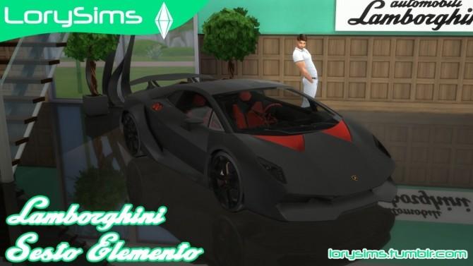 Lamborghini Sesto Elemento at LorySims image 907 670x377 Sims 4 Updates