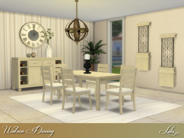 Sims 4 Watson Dining by Lulu265 at TSR