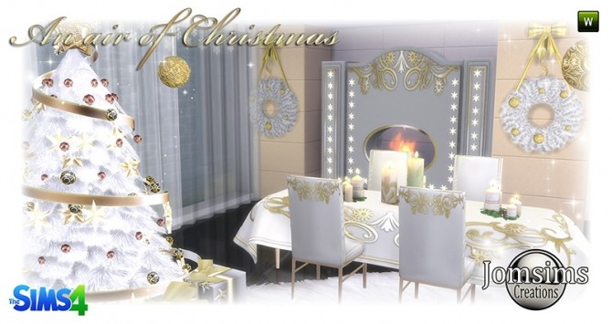 Air of christmas 2016 set at Jomsims Creations image 913 670x355 Sims 4 Updates