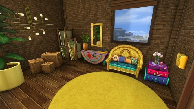 Sims 4 Art Penthouse by Dolkin at ihelensims
