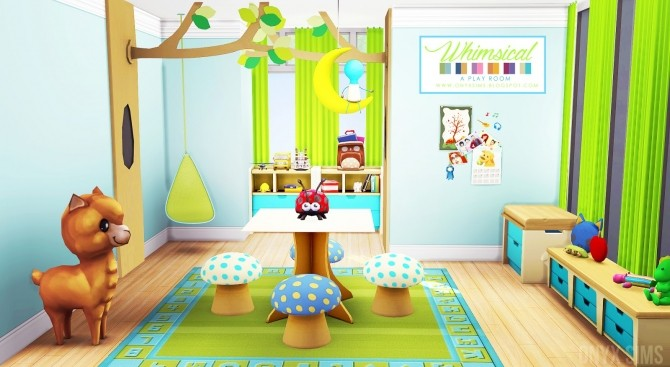 Whimsical Playroom at Onyx Sims image 939 670x367 Sims 4 Updates