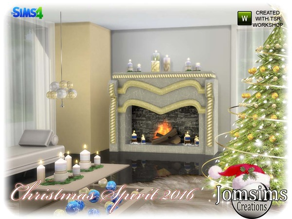 Christmas spirit 2016 set by jomsims at TSR image 940 Sims 4 Updates