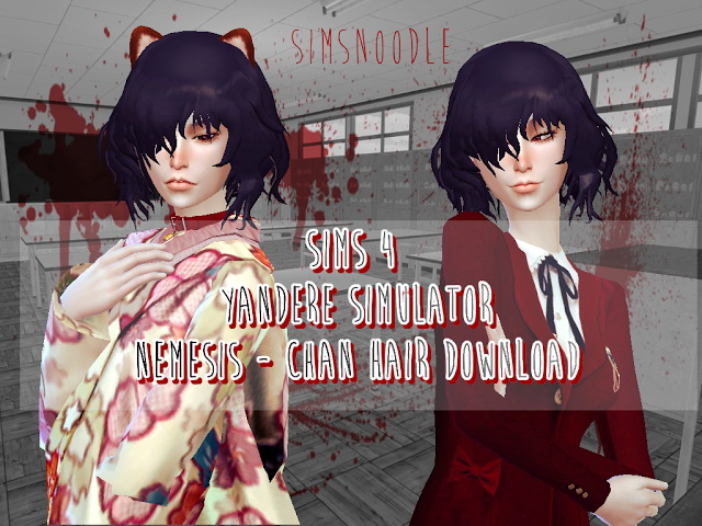 Nemesis Chan Hair Conversion at SimsNoodles image 9411 Sims 4 Updates