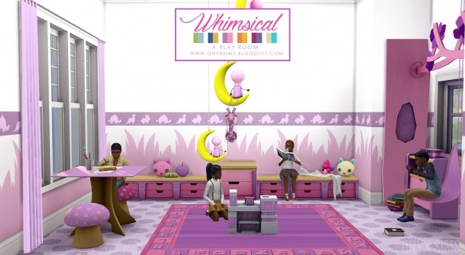 Whimsical Playroom at Onyx Sims image 947 670x367 Sims 4 Updates