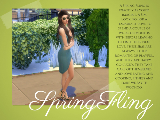 Spring Fling Trait at MellyCreates image 9514 Sims 4 Updates