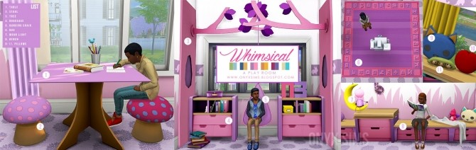 Whimsical Playroom at Onyx Sims image 959 670x212 Sims 4 Updates