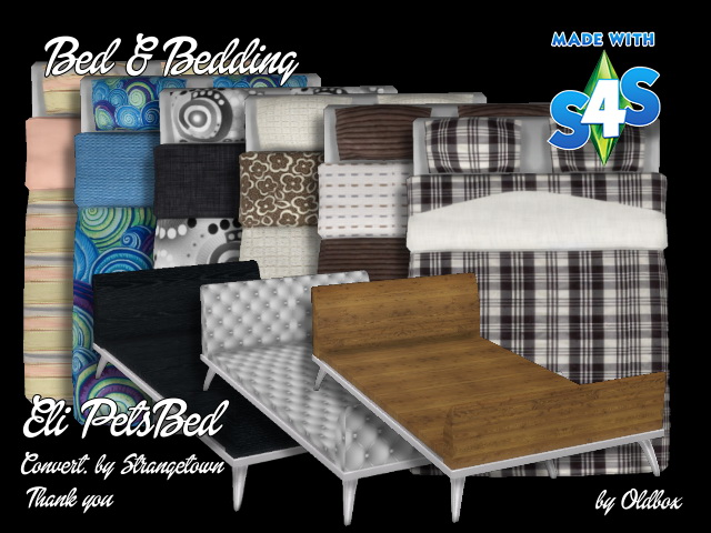 Bed + Bedding recolors by Oldbox at All 4 Sims image 9613 Sims 4 Updates