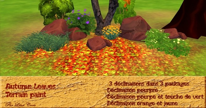 Autumn Leaves by Léna Crow at Sims Artists image 969 670x353 Sims 4 Updates