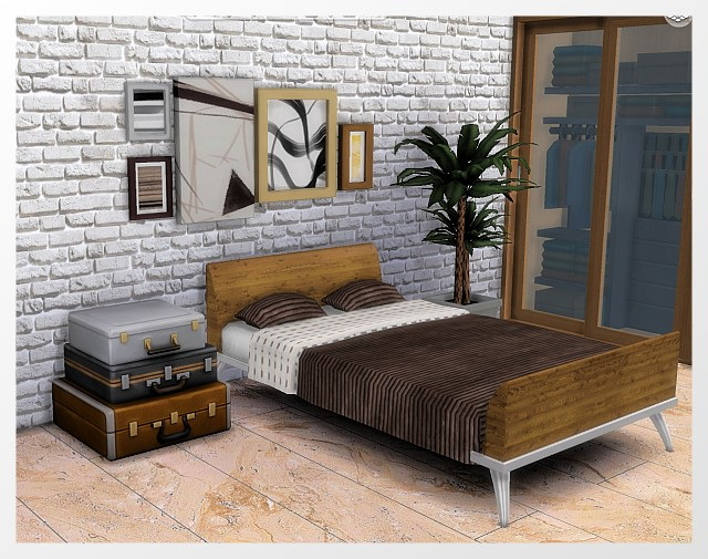 Bed + Bedding recolors by Oldbox at All 4 Sims image 9713 Sims 4 Updates