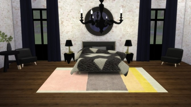 Bedside Gun Lamp at Meinkatz Creations image 9716 670x377 Sims 4 Updates