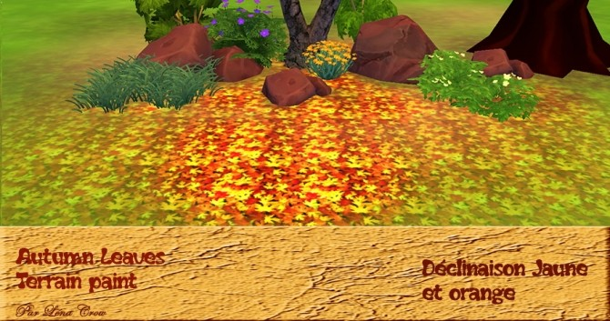 Autumn Leaves by Léna Crow at Sims Artists image 979 670x353 Sims 4 Updates