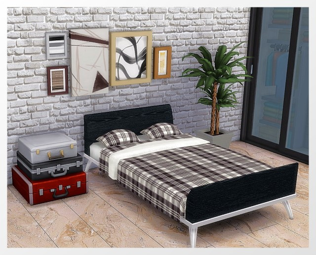 Bed + Bedding recolors by Oldbox at All 4 Sims image 9812 Sims 4 Updates