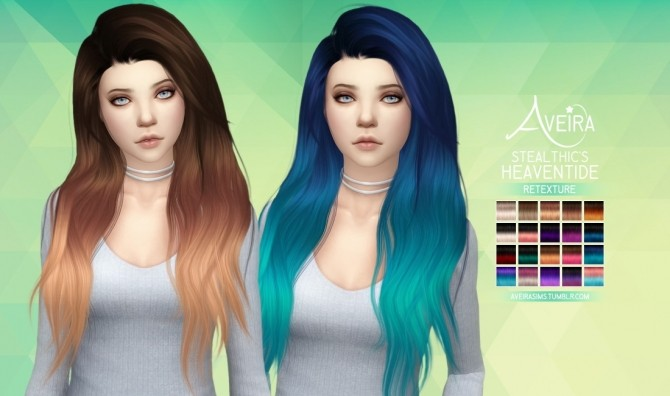 Stealthic's Heaventide Hair Retexture at Aveira Sims 4 image 9912 670x396 Sims 4 Updates