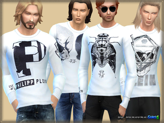 Sims 4 Long Sleeve shirt at Bukovka