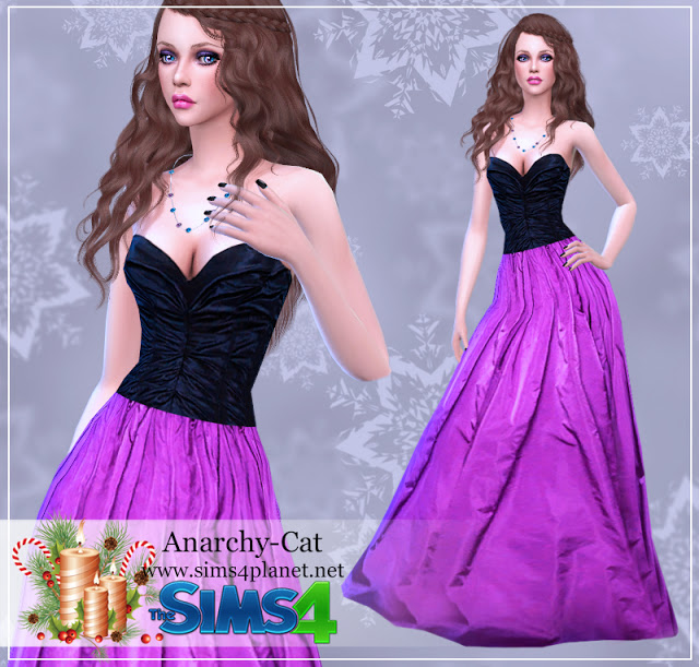 Dress #69 at Anarchy Cat image 997 Sims 4 Updates