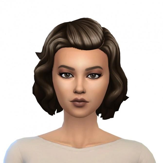 Kiarazurk's short wavy conversion hair at Deeliteful Simmer image 998 670x670 Sims 4 Updates