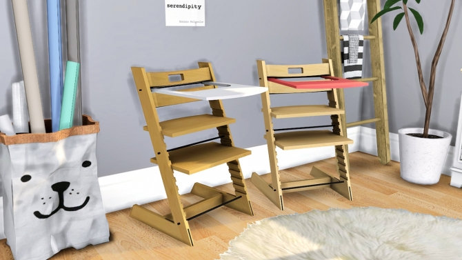 stokke tripp trapp high chair at mxims sims 4 updates. Black Bedroom Furniture Sets. Home Design Ideas