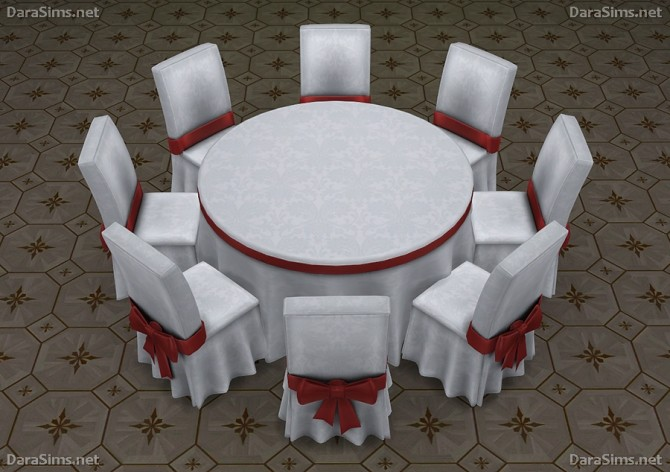 Big Round Festive Dining Tables (6 8 Seats) At Dara Sims Image 10117  670x472 ...
