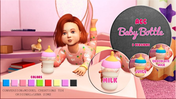 Baby Bottle Acc At Victor Miguel 187 Sims 4 Updates