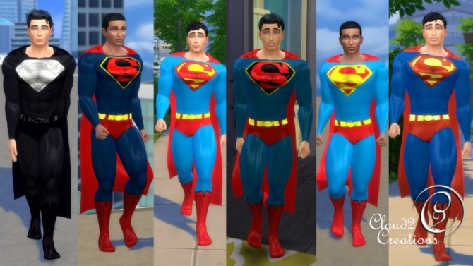 Superman At Cloud2 Creations 187 Sims 4 Updates