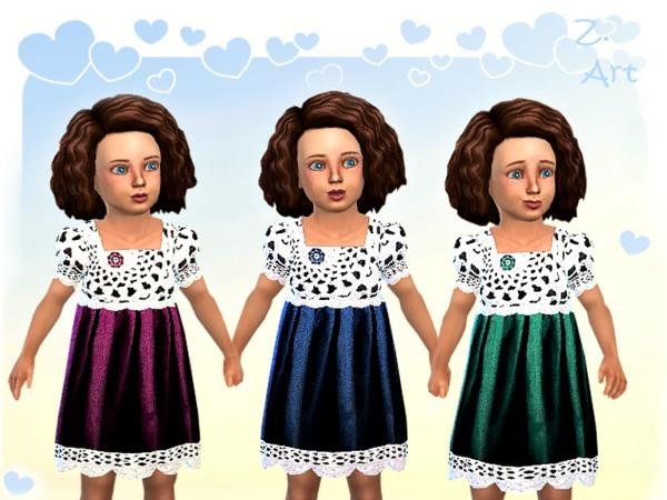 BabeZ. 04 dress by Zuckerschnute20 at TSR image 1050 Sims 4 Updates