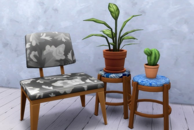 16 recolors of gatochwegchristel's stool edit at Budgie2budgie image 1054 670x449 Sims 4 Updates