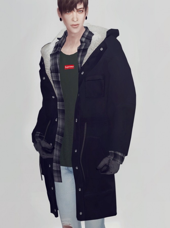 Pansy Long Jacket At Kk S Sims4 Ooobsooo 187 Sims 4 Updates