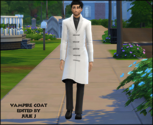 Sims 4 Male Vampire Coat Revamp at Julietoon – Julie J
