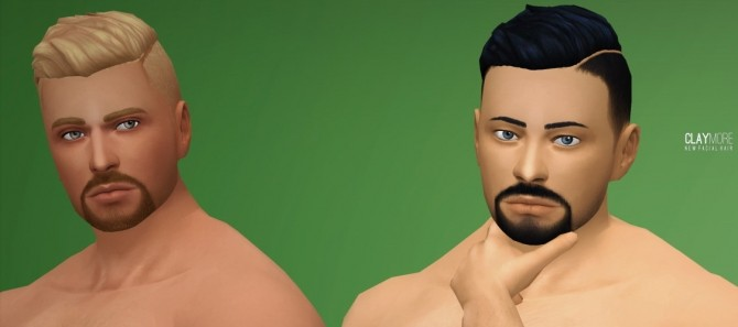 Claymore Facial Hair by Xld Sims at SimsWorkshop image 11011 670x297 Sims 4 Updates