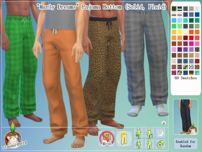 Manly Dreams Clothing pack by Standardheld at SimsWorkshop image 11020 670x503 Sims 4 Updates