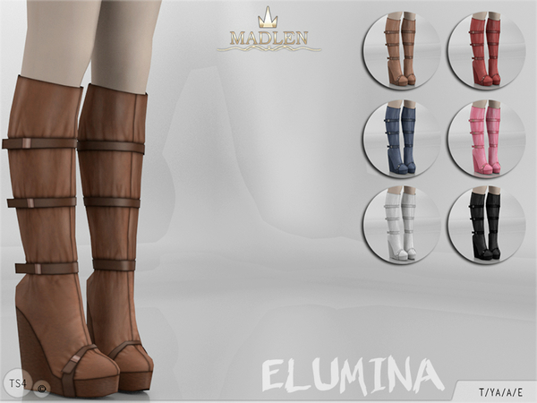 Madlen Elumina Boots by MJ95 at TSR image 1105 Sims 4 Updates