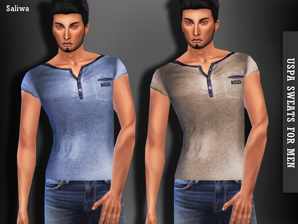 Sims 4 Casual Tops by Saliwa at TSR