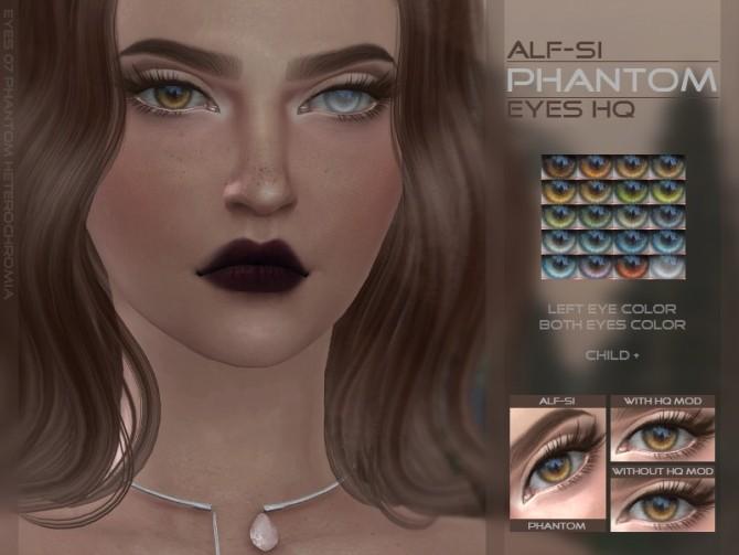 Sims 4 Eyes 07 Phantom HQ at Alf si