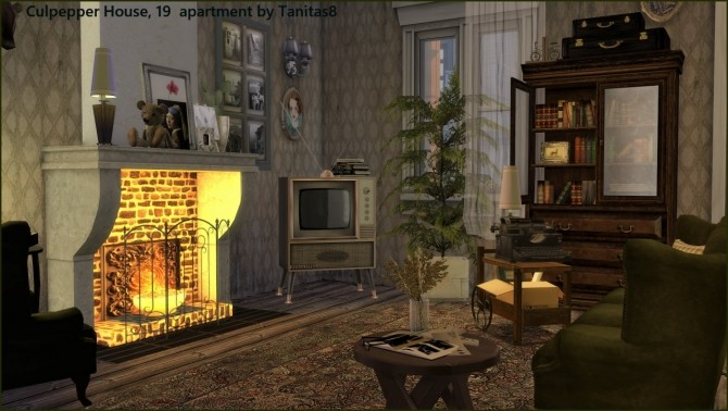 Sims 4 Culpepper House 19 apartment at Tanitas8 Sims