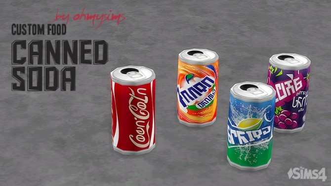 Canned Soda by ohmysims at Mod The Sims image 1123 670x377 Sims 4 Updates