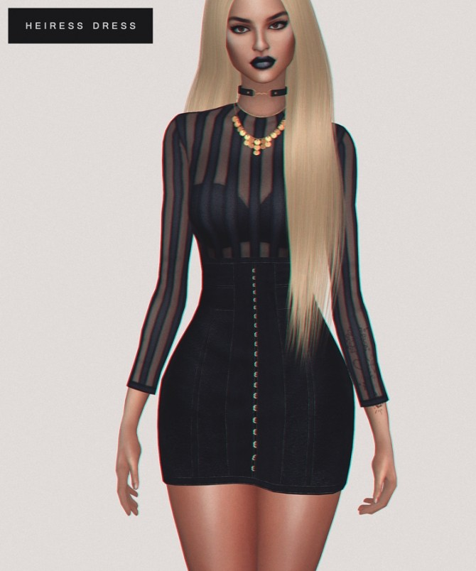 Heiress Dress at Fashion Royalty Sims image 1124 670x804 Sims 4 Updates