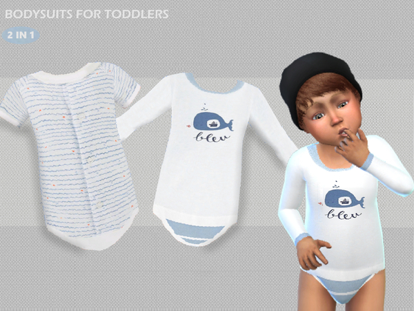 Bodysuits for boys by Puresim at TSR image 1126 Sims 4 Updates