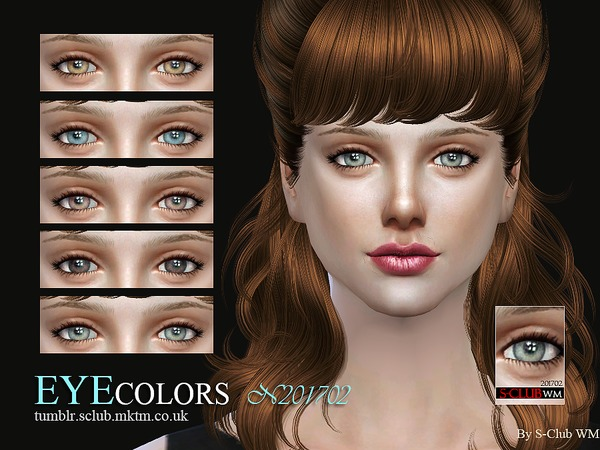 Eyecolors 201702 by S Club WM at TSR image 1128 Sims 4 Updates