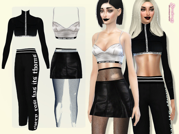 Sims 4 Bricolage Set 4 Items by Simsimay at TSR