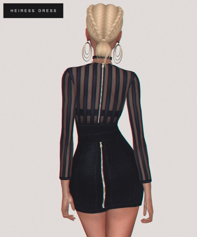Heiress Dress at Fashion Royalty Sims image 1134 670x804 Sims 4 Updates