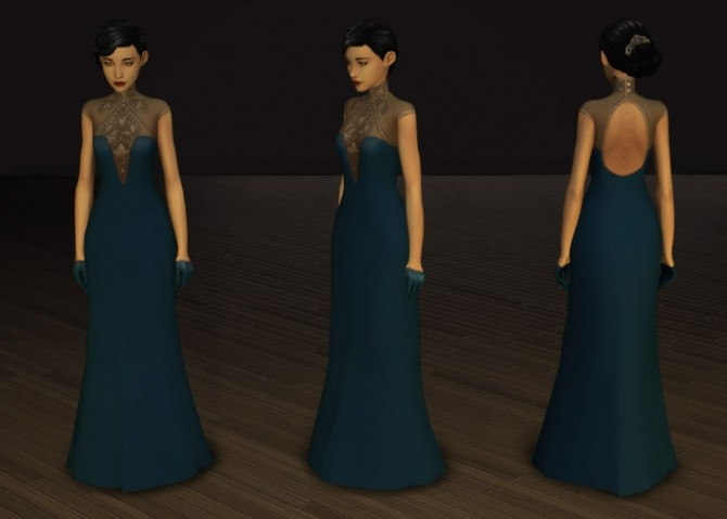 Crescendo and Fortissimo Gowns at Pickypikachu image 11614 670x479 Sims 4 Updates