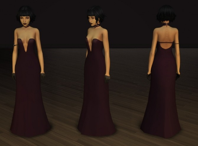 Crescendo and Fortissimo Gowns at Pickypikachu image 11713 670x496 Sims 4 Updates