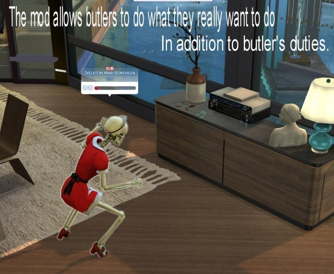 Sims 4 Relax Butlers Mod by itasan2 at Mod The Sims