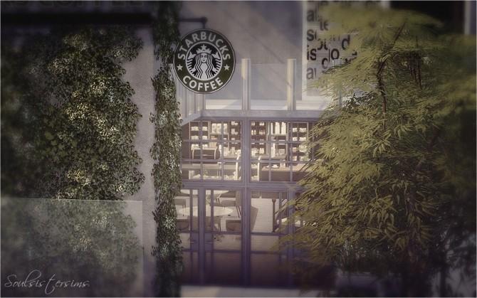 Sims 4 Hightower Starbucks at SoulSisterSims
