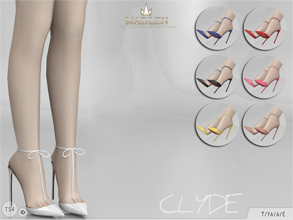Madlen Clyde Shoes by MJ95 at TSR image 119 Sims 4 Updates