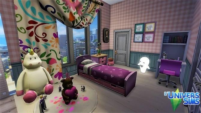 Sims 4 Apartment renovation by nathalieheya at L'UniverSims