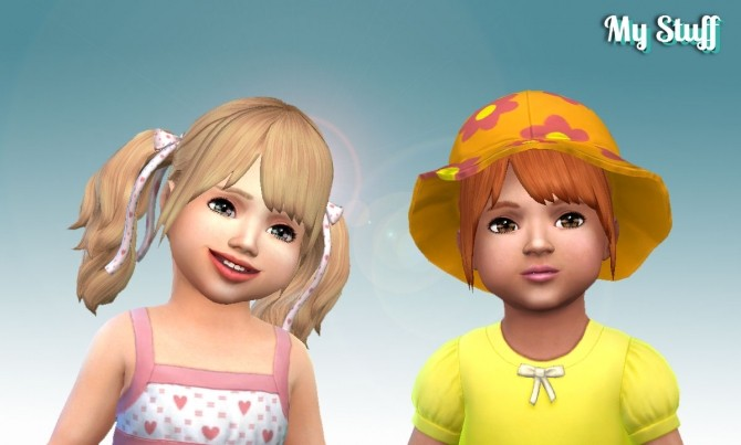 Sims 4 Rival Hairstyle for Toddlers at My Stuff