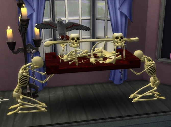 Sims 4 Hagganized Fracmas Gifts by BigUglyHag at SimsWorkshop